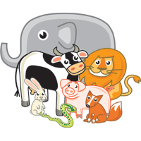 animals - English for Kids - ESL Picture Diction