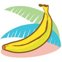 banana - English for Kids - ESL Picture Dictionary