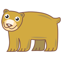 bear - English for Kids - ESL Picture Dictionary