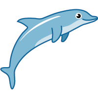 dolphin - English for Kids - ESL Picture Dictionary
