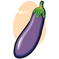 eggplant - English for Kids - ESL Picture Dictionary