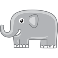 elephant - English for Kids - ESL Picture Dictionary