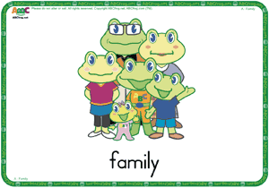 Family - ESL Flash Cards - English for Kids