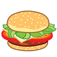 hamburger - English for Kids - ESL Picture Dictionary