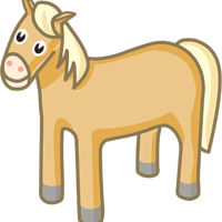 horse - English for Kids - ESL picture dictionary
