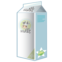 milk - English for Kids - ESL Picture Dictionary