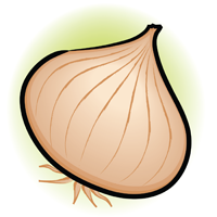 onion - English for Kids - ESL Picture Dictionary