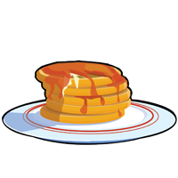 pancakes - English for Kids - ESL Picture Dictionary