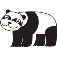 panda - English for Kids - ESL picture dictionary