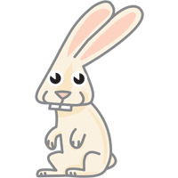 rabbit- English for Kids - ESL picture dictionary