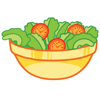 salad - English for Kids - ESL Picture Dictionary
