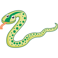 snake - English for Kids - ESL picture dictionary