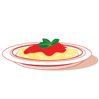 spaghetti - English for Kids - ESL Picture Dictionary