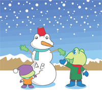 winter - English for Kids - ESL Picture Dictionary