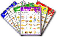 Food ESL Game SET