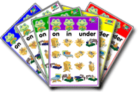 Prepositions ESL Game Set