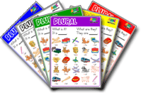 Singular - Plural ESL Game Set